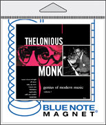 Blue Note Packaged 3 x 3 Magnet